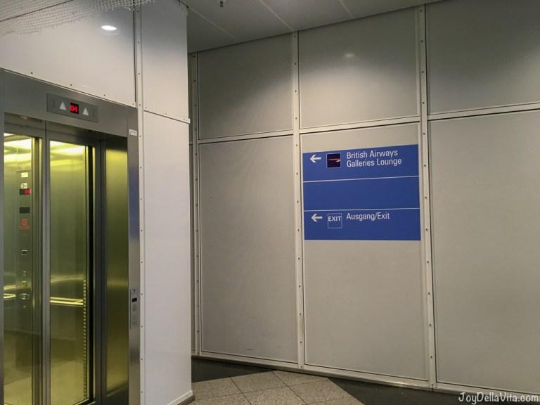 Qatar Airways Business Lounge at Munich Airport Terminal 1 B (British Airways Lounge)