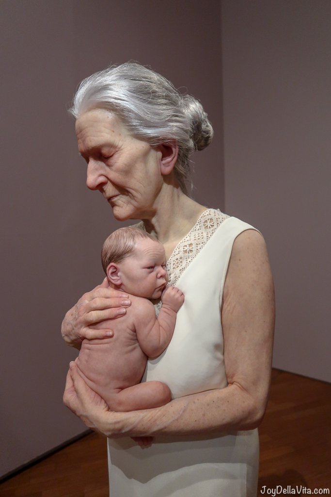 Sam JINKS Woman and child 2010 HYPER REAL National Gallery of Australia Canberra