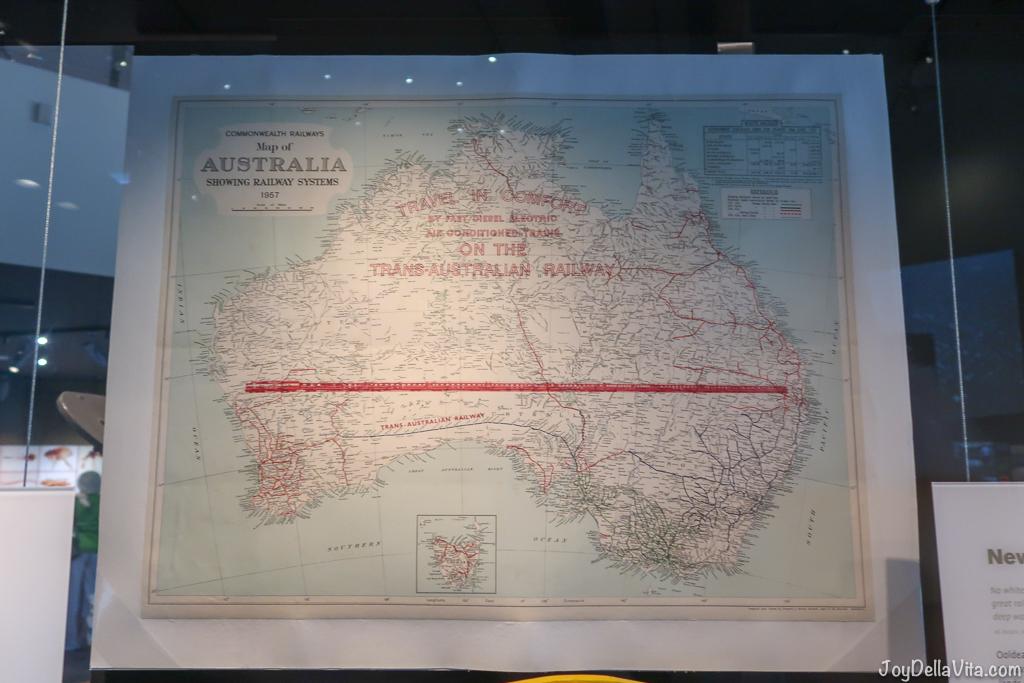Trans-Australian Railway National Museum of Australia Canberra