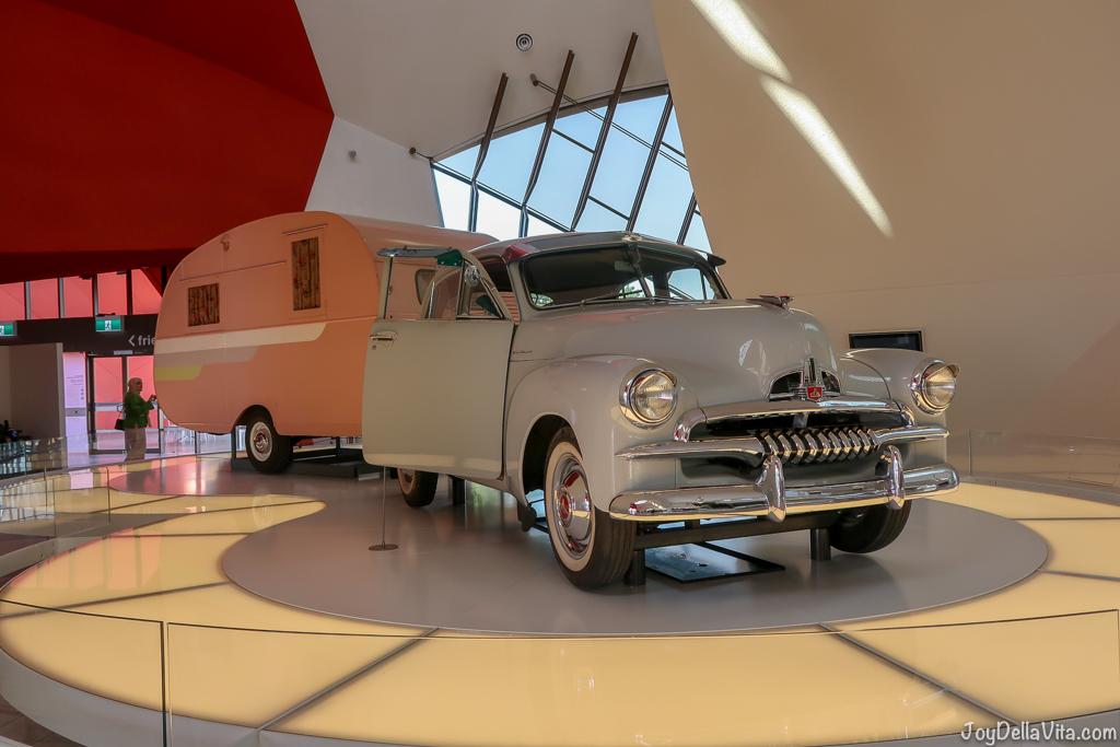 Vintage Holden Car at National Museum of Australia Canberra