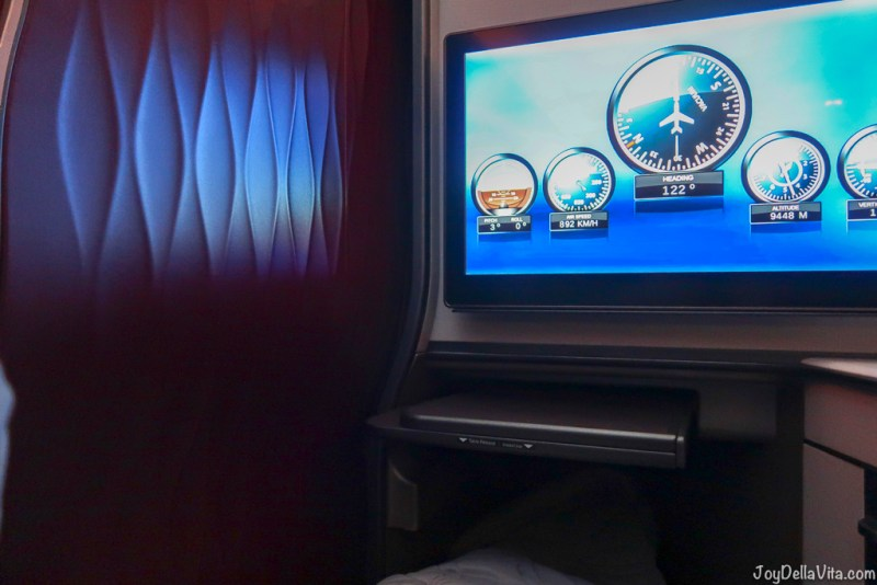 Qatar Airways Qsuite Business Class InFlight Entertainment