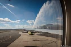 Qatar Airways Inaugural Flight Canberra Australia QR906 Boeing 777-300ER Travelblog Joy Della Vita