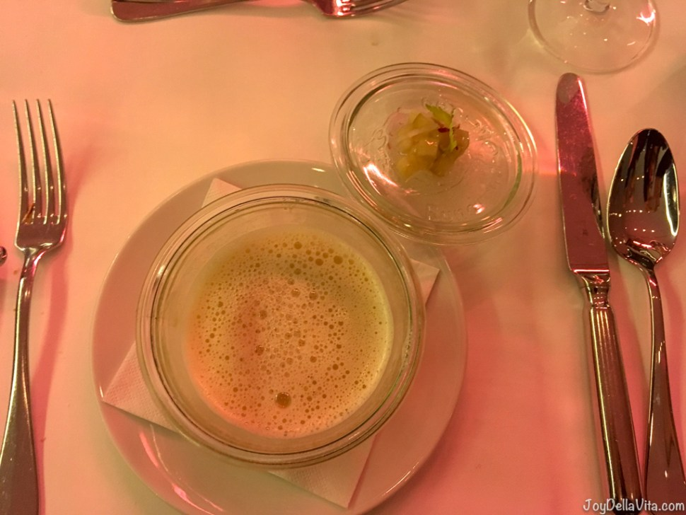Apple Celery Soup Restaurant Berchtesgaden Kempinski
