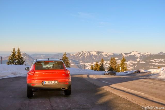 plenty of parking at Rossfeld Panoramastrasse Berchtesgaden