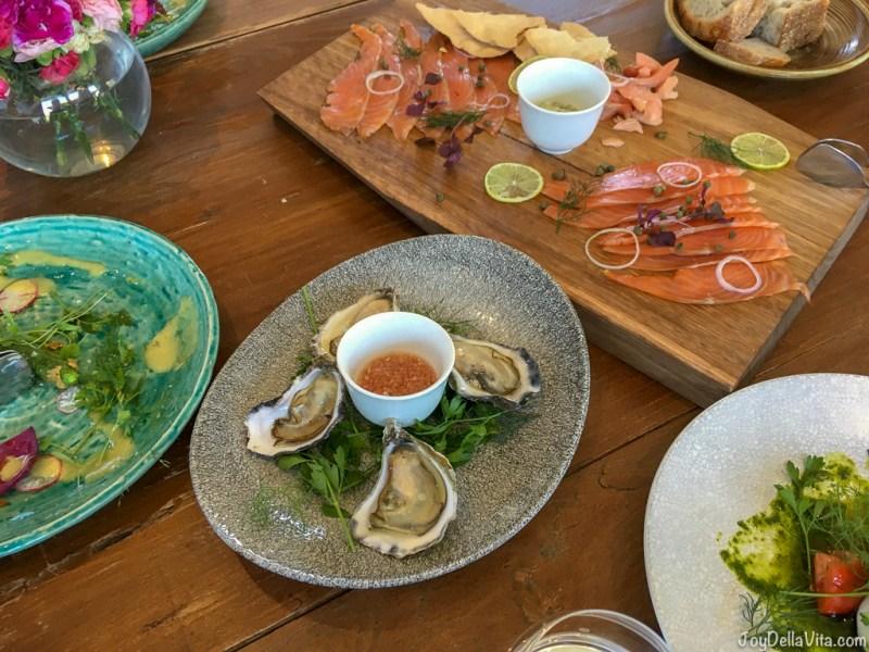 Sydney Rock Oysters & Mignonette Pialligo Estate Canberra