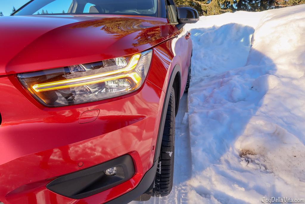 "Volvo XC40 Full-LED headlight ""Thors Hammer"""