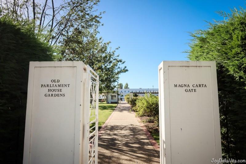 Canberra Sightseeing Magna Carta Rose Garden Old Parliament Hous
