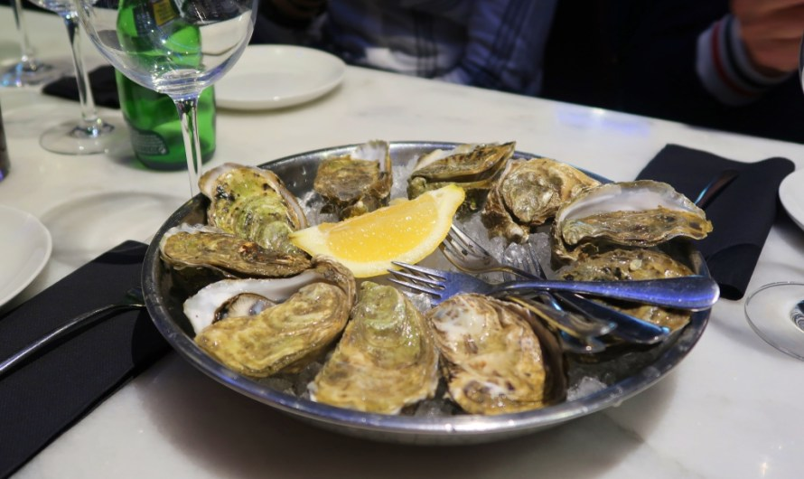 Vegetarian Lunch at KATA4 oyster bar Donostia San Sebastian