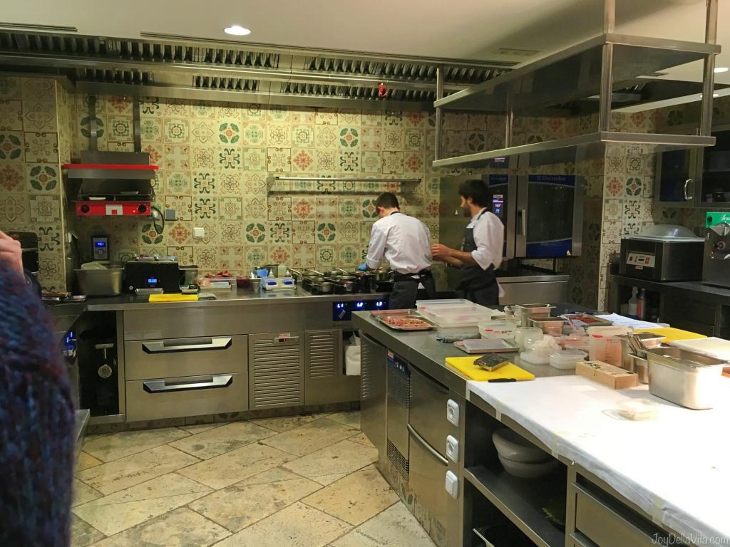 Amelia kitchen in San Sebastian Donostia