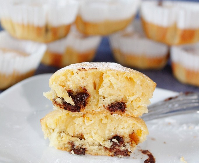 Recipe: Muffin Arance e Yogurt – Italian Sicilian orange and yogurt mini-cakes (muffins)
