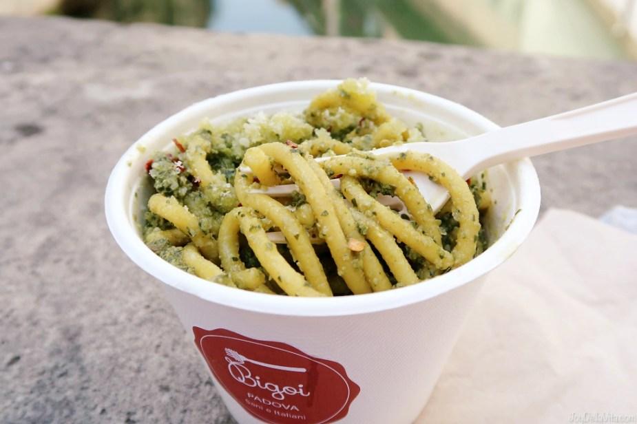 Bigoi Pasta Pesto Genovese