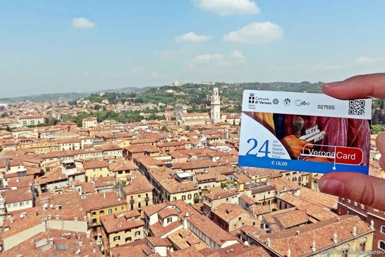 """Where to buy Verona Card, the """"all-inclusive card for Tourists"""" in Verona"""
