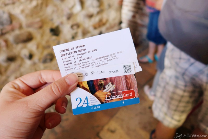 arena di verona ticket verona card