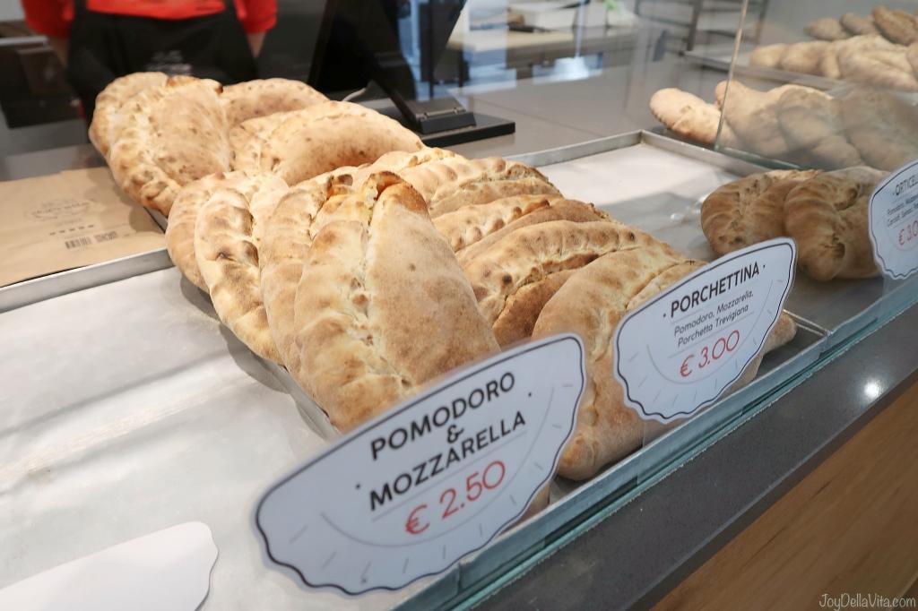Pomodoro Mozzarella Panzerotti Padua daPrette Padova