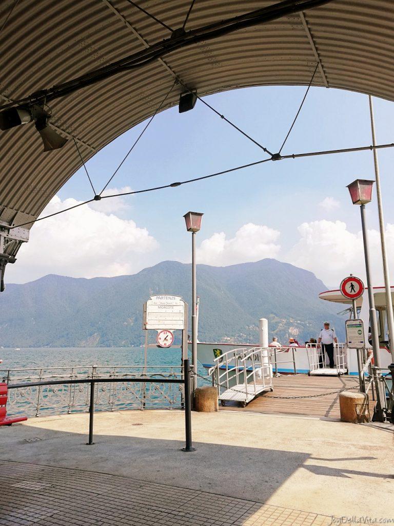 Boat Terminal Lugano Centrale lago