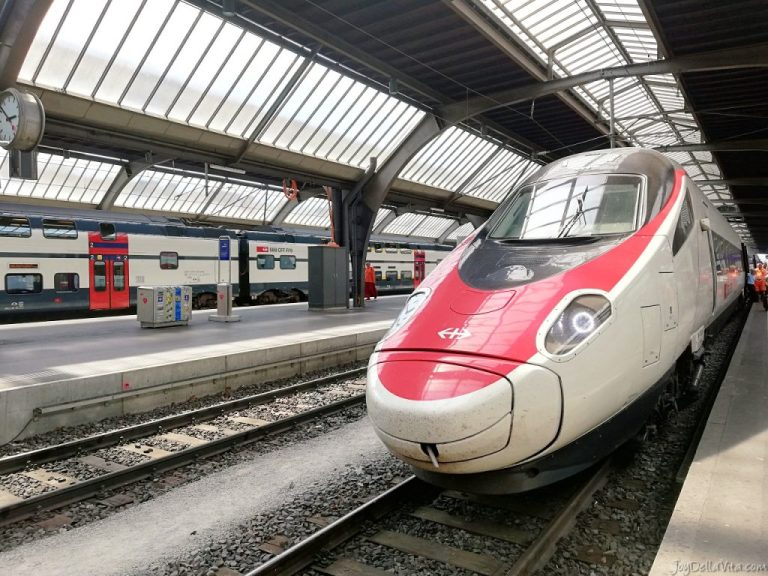 SBB Review: EuroCity Train from Zurich to Lugano in 2nd class
