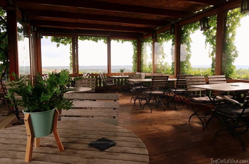 Afternoon at Baiken Restaurant & Vineyard in Eltville am Rhein near Frankfurt