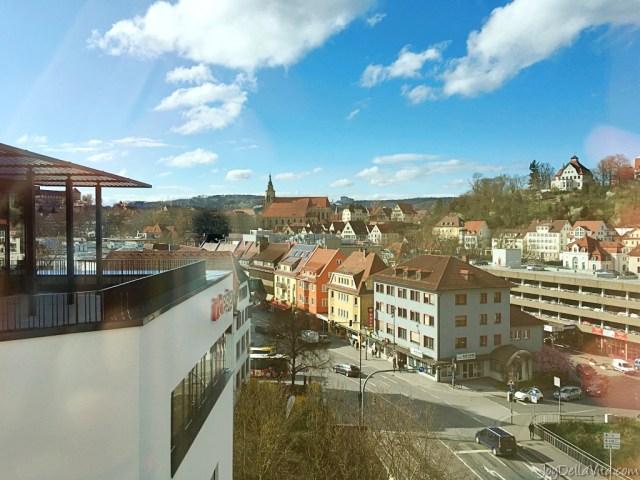 hotel room with a view - ibis styles Tübingen