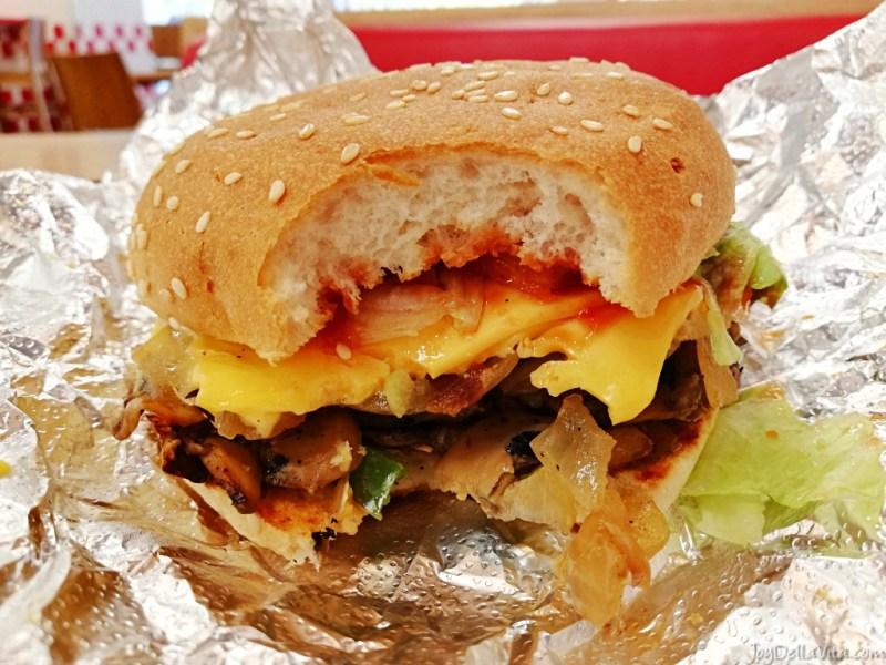 5 Guys Aix-en-Provence Veggie Cheese Sandwich