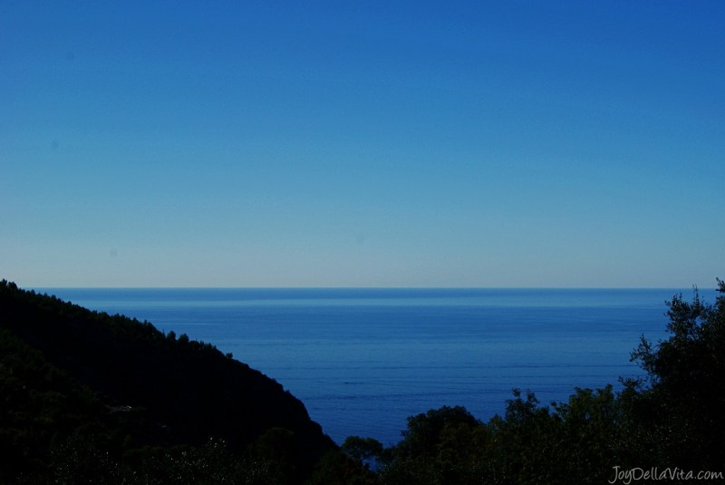 French Riviera as seen from beautiful Ezé