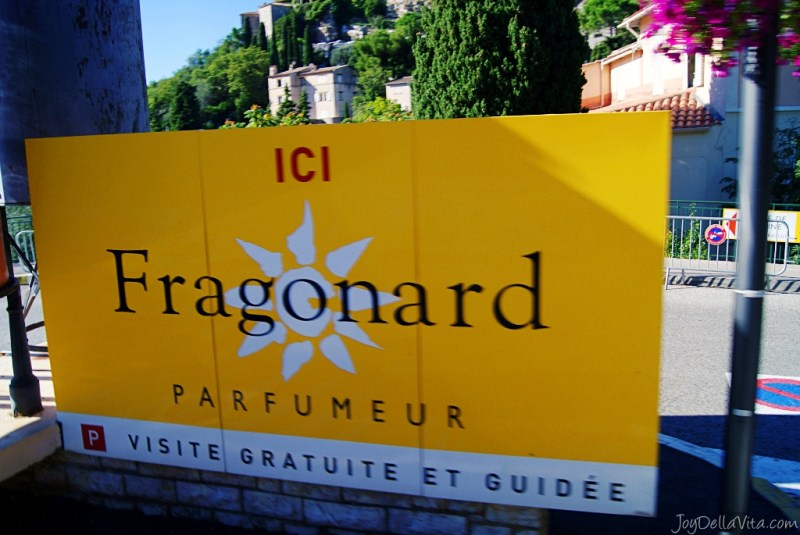 Fragonard Perfumery - The Èze factory french travel blog