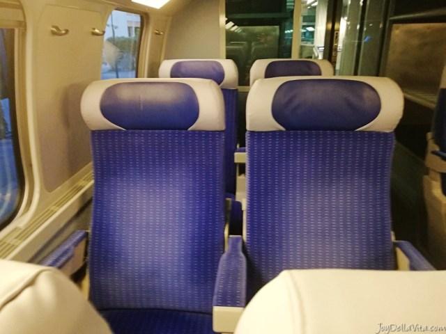 seats TGV 2nd class