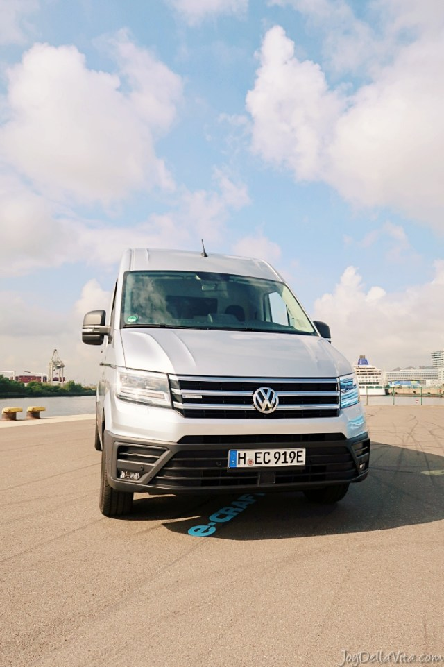 all-electric Volkswagen e-Crafter