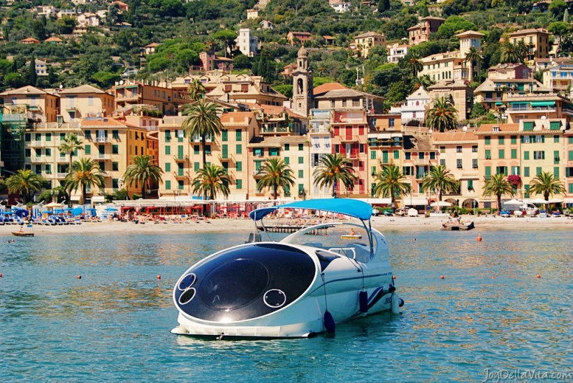 boat to portofino