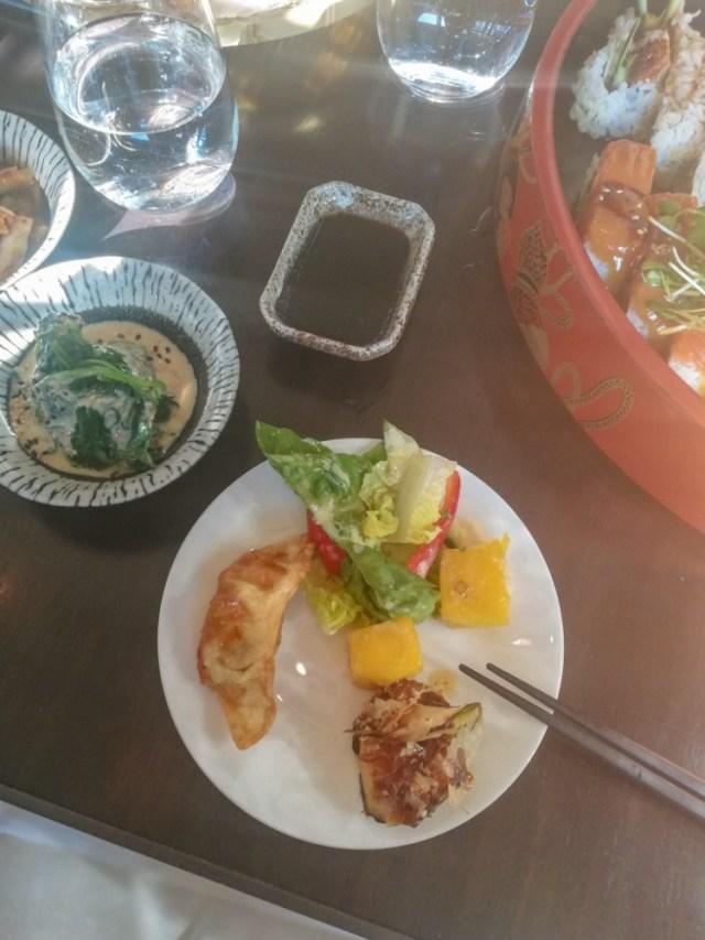 Shared dinner at moriki Baden-Baden