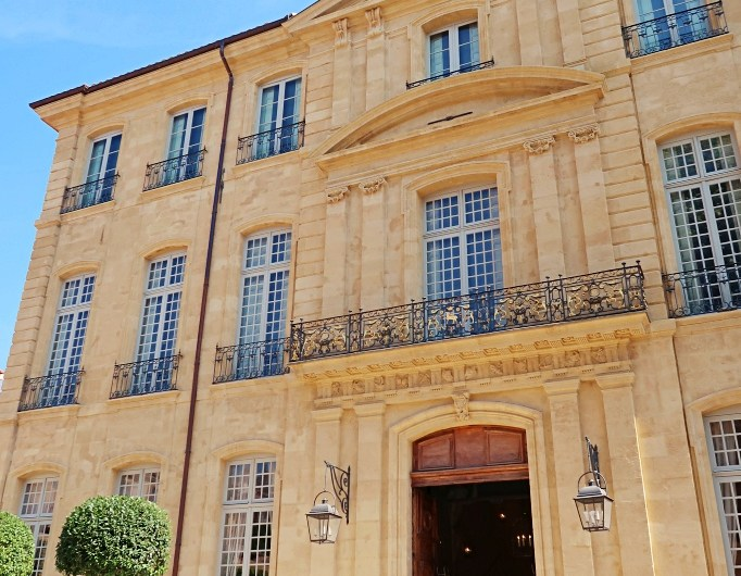 Art Center Hôtel de Caumont Aix-en-Provence in an 18th century mansion