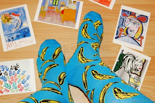 andy warhol happy socks