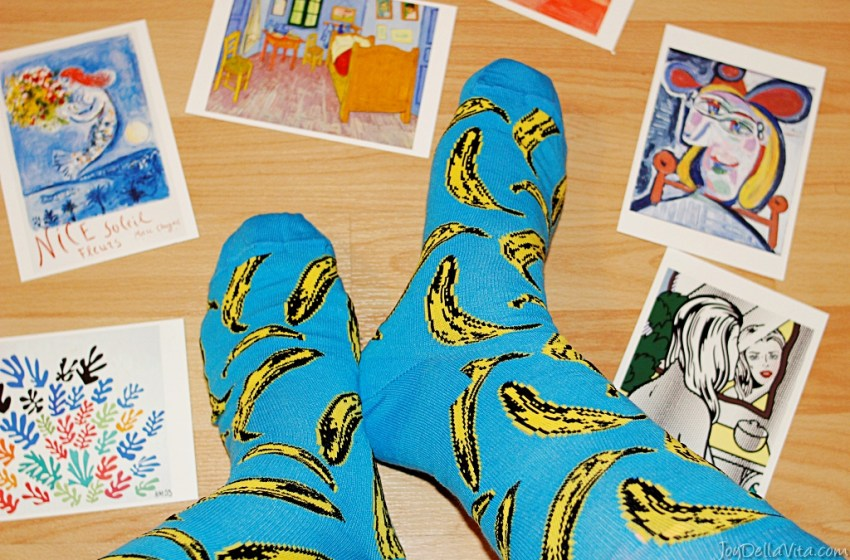 How to start collecting Art – featuring the new Andy Warhol Socks by Happy Socks