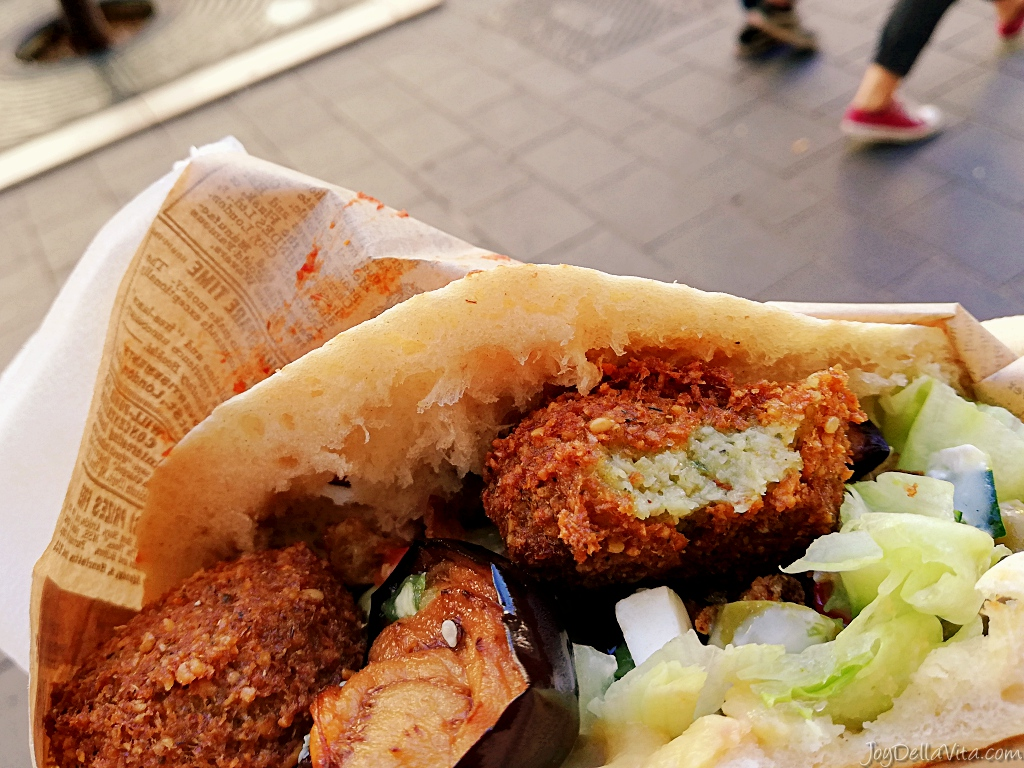 crispy falafel in nice, south of france