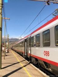 EuroCity Train Innsbruck Brixen South Tyrol