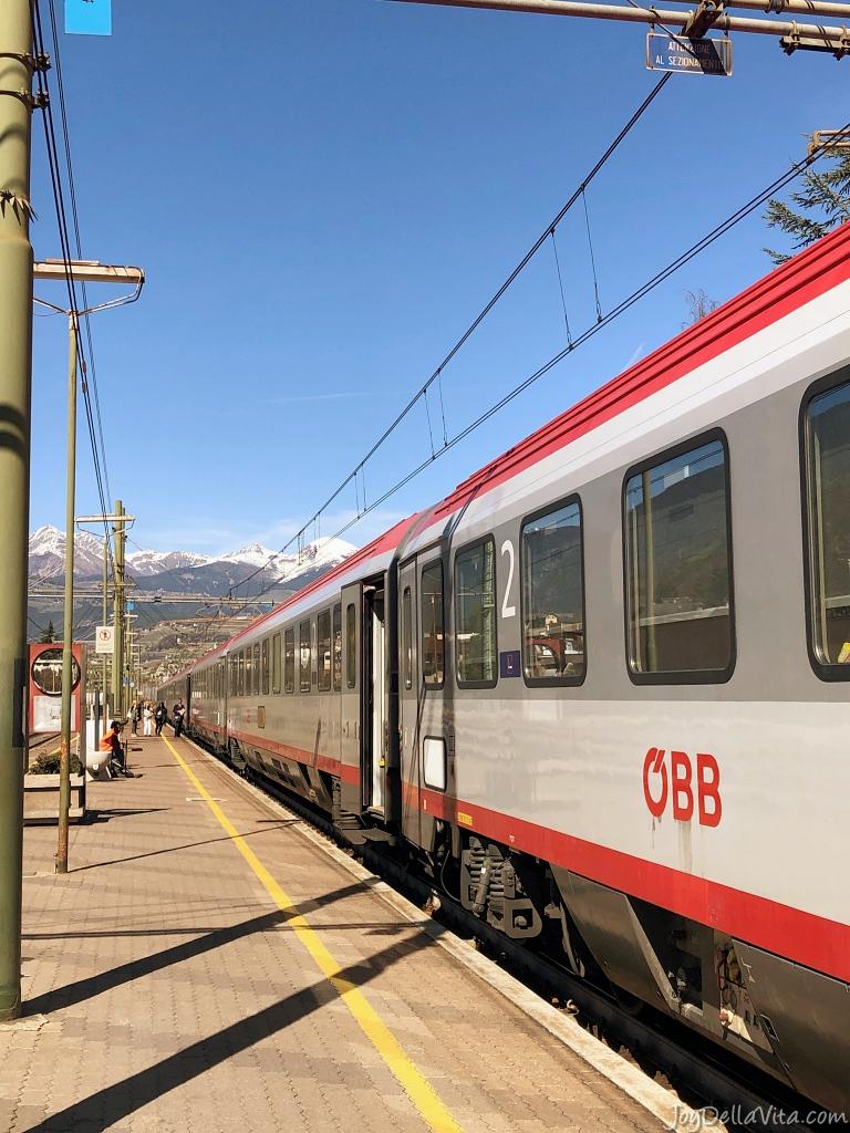 Taking a Train from Innsbruck to Brixen in South Tyrol (ÖBB EuroCity)