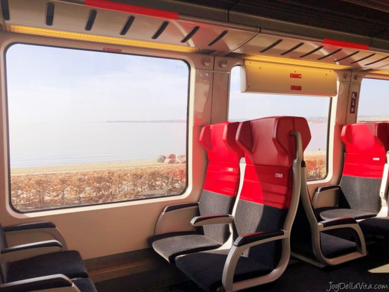 Taking an ÖBB REX Train from Lindau to Bregenz (from Germany to Austria)