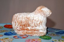 Osterlamm typical german easter cake