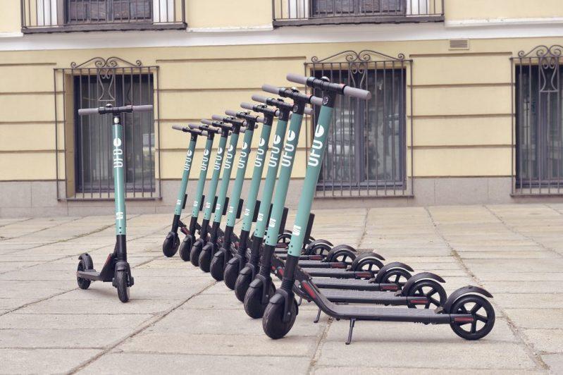 seat kick scooter sharing madrid