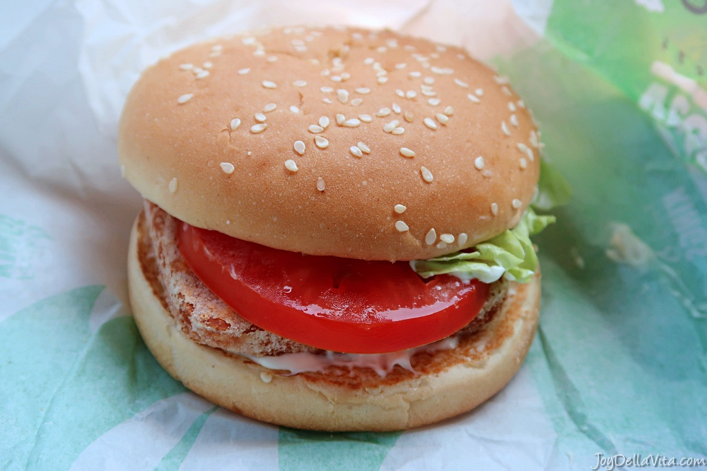 Veggie Cheese King Halloumi Burger King Germany German Blog JoyDellaVita