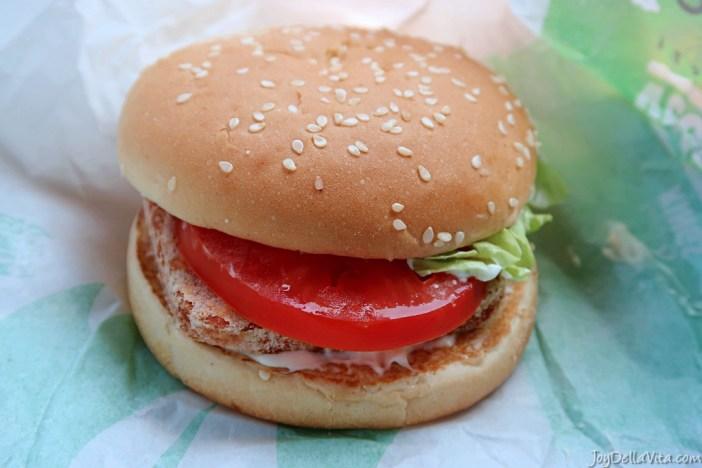 Veggie Cheese King Halloumi Burger King Germany German Blog JoyDellaVita