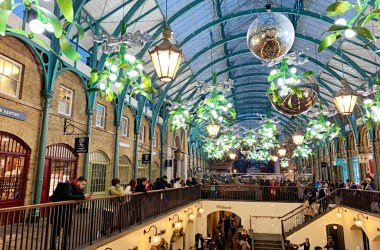 covent garden winter decorations 2019 2020 london