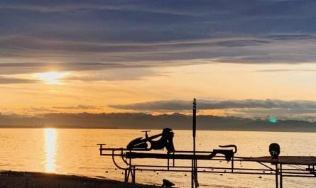 Lake Constance Winter Friedrichshafen