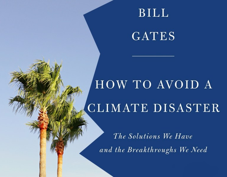 Pre-order now: Bill Gates' book on climate change and the climate crisis