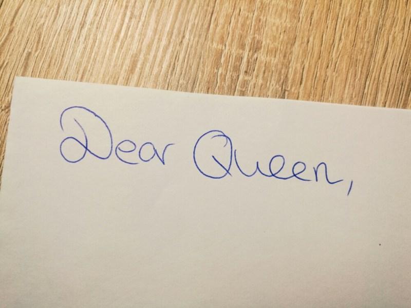 queen letter buckingham