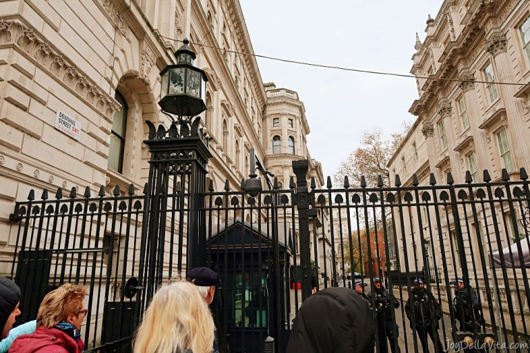 How to visit 10 Downing Street in London