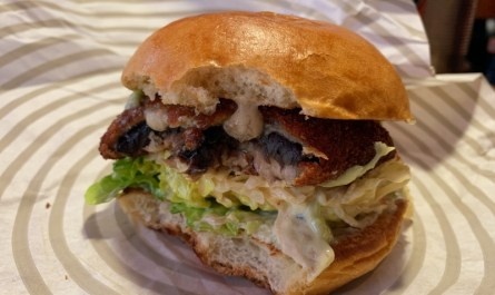 Patty and Bun Portobello Mushroom Burger London Blog