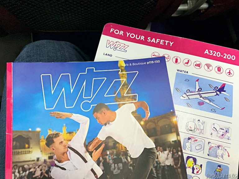 WizzAir Café On Board Prices – Snacks & Drinks