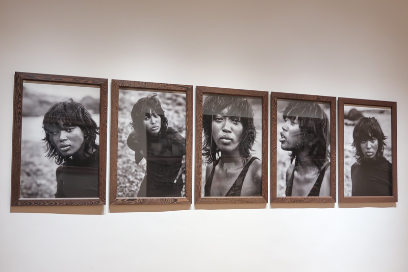 Naomi Campbell Portraits by Peter Lindbergh