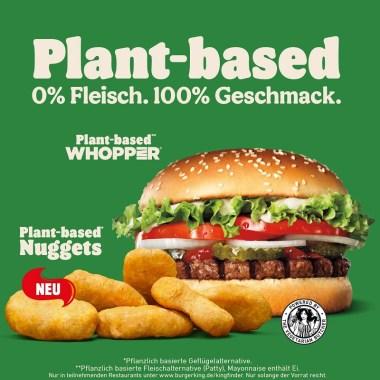 Plant-based Nuggets Burger King Germany joydellavita