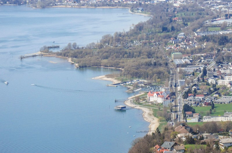 Parking in Bregenz near Lake Constance & near the old town – where and how expensive